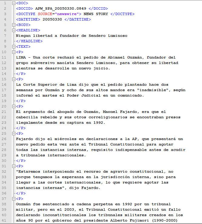 ACE 2007 Multilingual Training Corpus - Linguistic Data